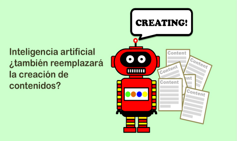 Inteligencia artificial en content marketing