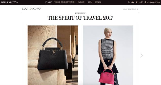 Luis Vuitton the spirit of travel