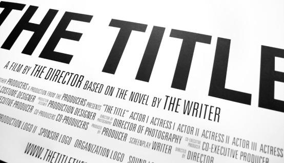 redacting Title