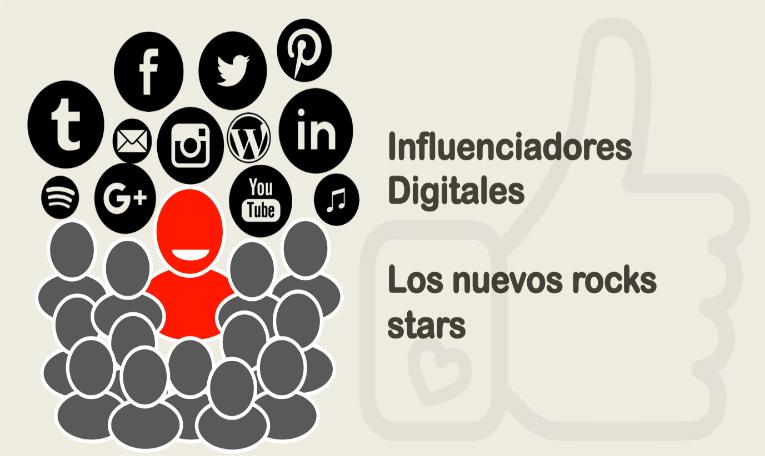 Influenciadores digitales