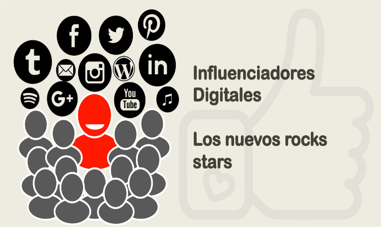 Influenciadores digitales