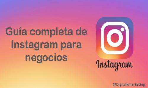 Guia completa instagram negocios