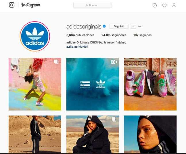 Identidad de marca en Instagram